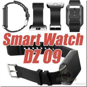 DZ09 Single SIM Smart Watch Phone-Black