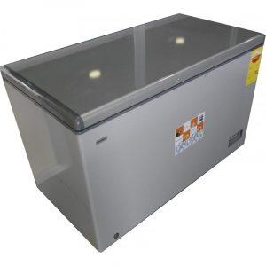 Nasco NAS-420 Chest Freezer-380 Liters Silver