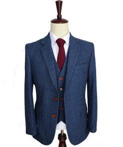 Gentleman Style Wedding Suit for Men