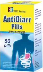 BF Suma AntiDiarr Pills Treats Acute Diarrhea