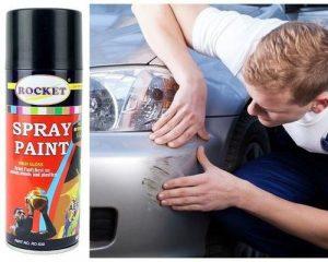 Rocket Car Scratch Repair Aerosol Spray Paint