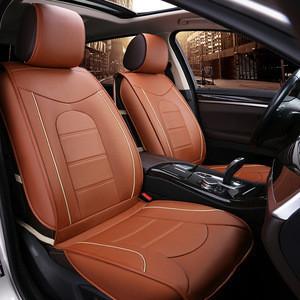 Car Seat Cove Pure Leather 5 Pcs Universal Car