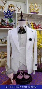Three-Piece Gentleman Style Suit Jacket