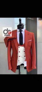 Three-Piece For Wedding Men On Suit